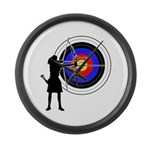 Archery3 Large Wall Clock