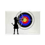 Archery3 Rectangle Magnet (10 pack)