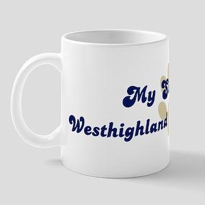 My Sister: Westhighland White Mug