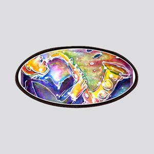 Music!!! Bright, colorful art Patches