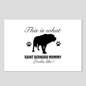 Saint Bernard Mommy Postcards (Package of 8)