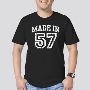 Made In 57 Men's Fitted T-Shirt (dark)