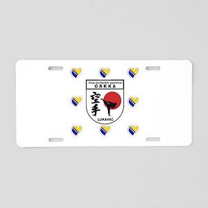 ORKKA BOSNIA Aluminum License Plate