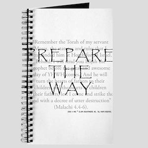 Prepare the Way Journal