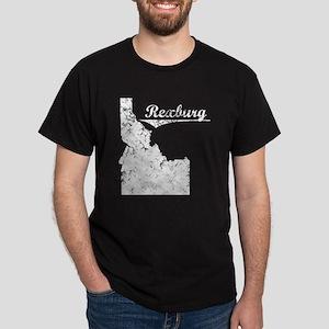 Rexburg, Idaho. Vintage Dark T-Shirt