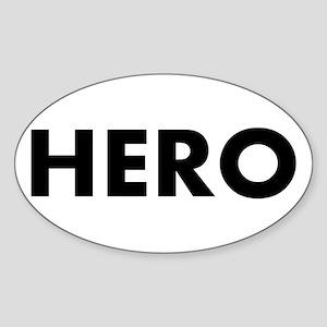 HERO - Sticker (Oval)