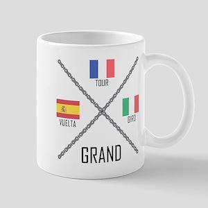 Cycling Grand Tours Mugs