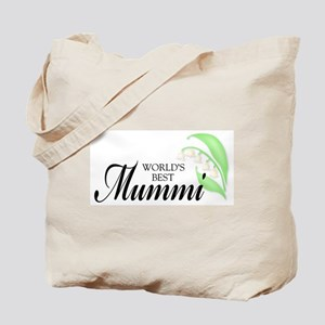 World's Best Mummi Tote Bag