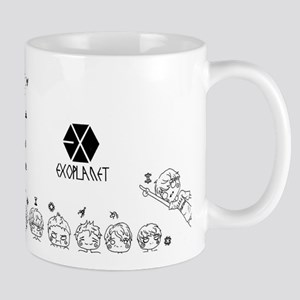 EXO Chibi Stainless Steel Travel Mugs