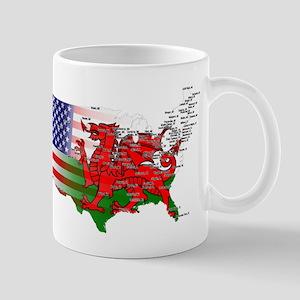 Welsh Placenames USA Mug