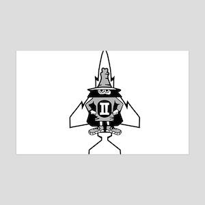 Phantom II & it's Gears 38.5 x 24.5 Wall Peel