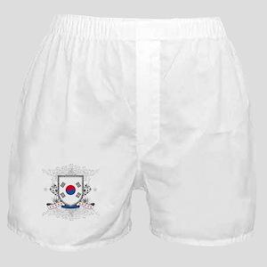Korea Shield Boxer Shorts
