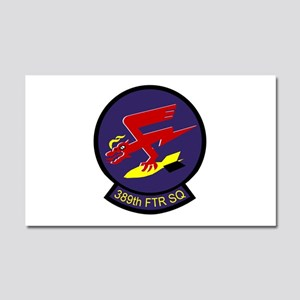 389th Fighter Squadron Car Magnet 20 x 12