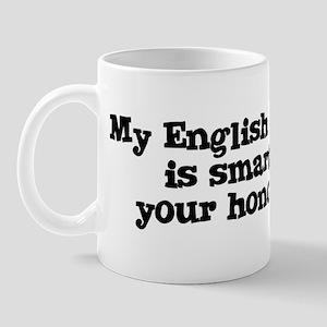 Honor Student: My English Toy Mug