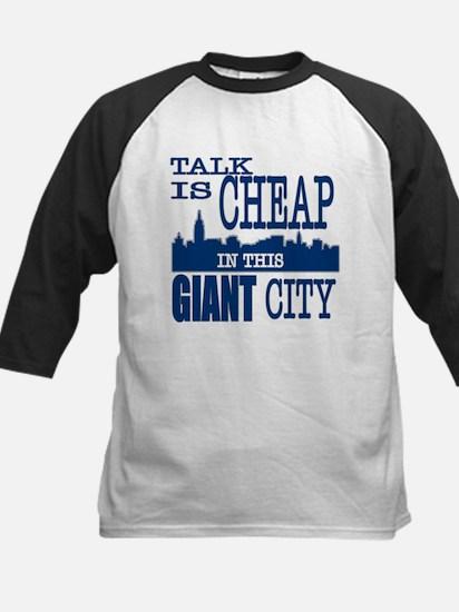 Giant City. Kids Baseball Jersey