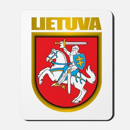 """""""Lithuania COA"""" Mousepad"""