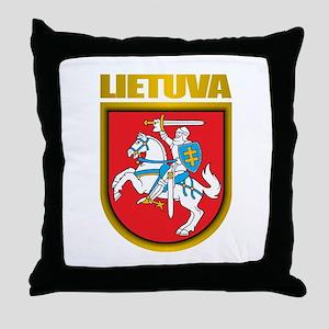 """""""Lithuania COA"""" Throw Pillow"""