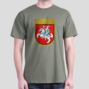 """Lithuania COA"" Dark T-Shirt"