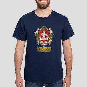 """Vilnius"" Dark T-Shirt"