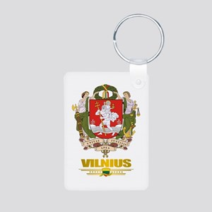 """Vilnius"" Aluminum Photo Keychain"