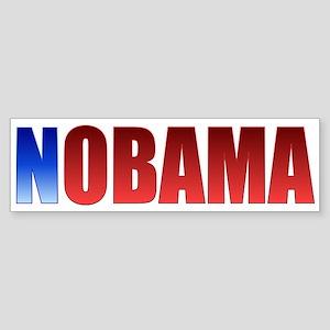 NOBAMA Sticker (Bumper)