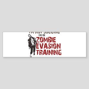 ZOMBIE EVASION Sticker (Bumper)
