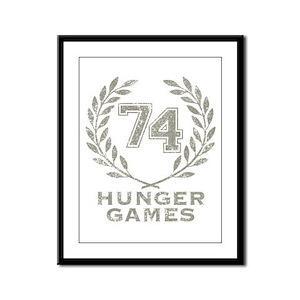 74th Hunger Games Framed Panel Print
