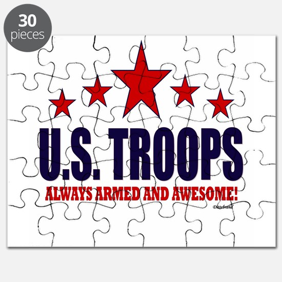 U.S. Troops Always Armed And Awesome Puzzle
