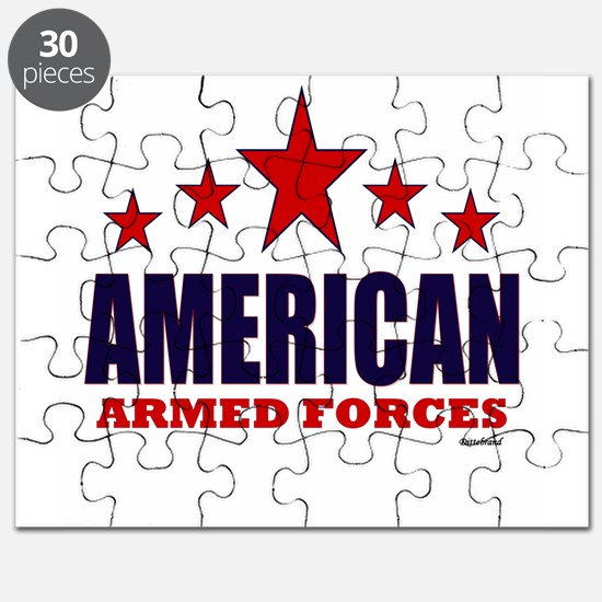 American Armed Forces Puzzle