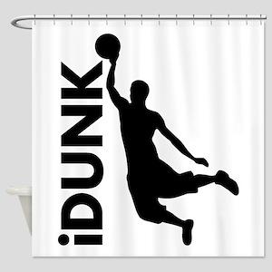 iDunk Basketball Shower Curtain