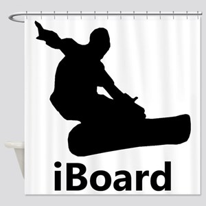 iBoard Shower Curtain