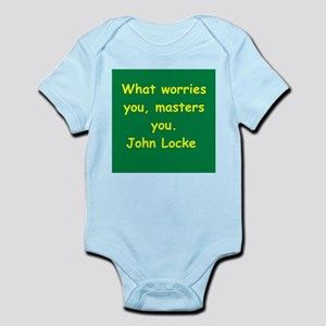 john locke Infant Bodysuit