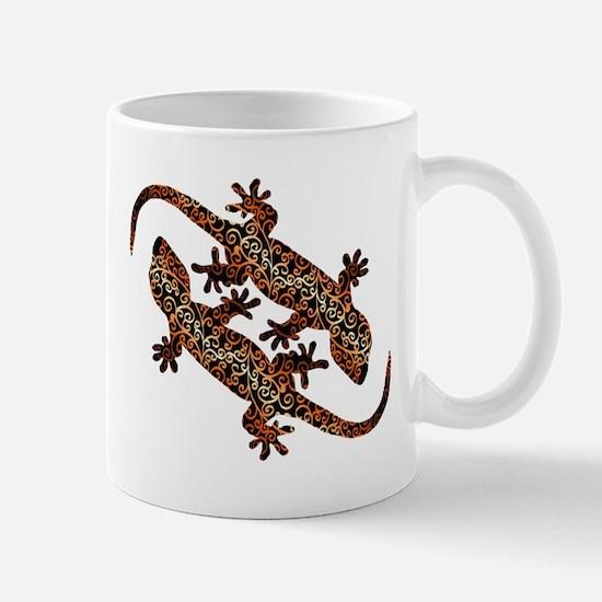 two geckos Mug