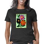 Colorful Flowers Vintage P Women's Classic T-Shirt