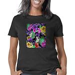 Colorful Flower Design Pri Women's Classic T-Shirt