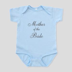 Mother of the Bride Black Scr Infant Bodysuit