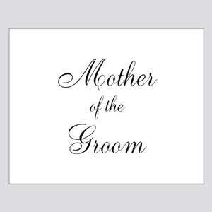 Mother of the Groom Black Sci Small Poster