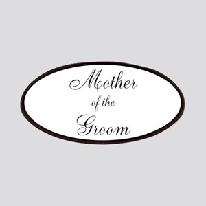 Mother of the Groom Black Sci Patches
