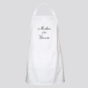 Mother of the Groom Black Sci Apron