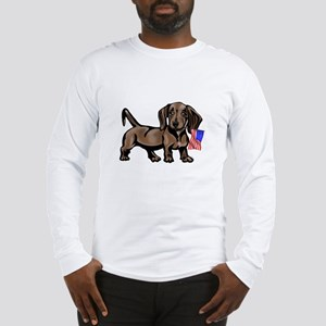 4th of July Dachshund Long Sleeve T-Shirt