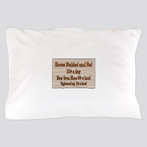Old West Signs Pillow Case