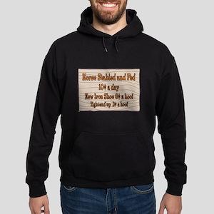 Old West Signs Hoodie (dark)