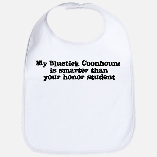 Honor Student: My Bluetick Co Bib