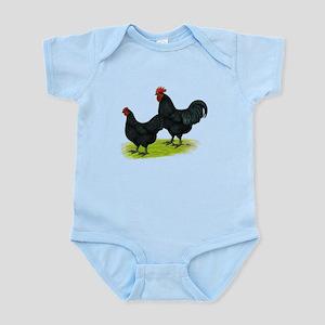 Australorp Chickens Infant Bodysuit