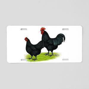 Australorp Chickens Aluminum License Plate