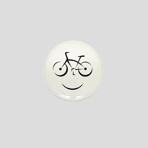 Bike Smile Mini Button