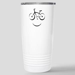 Bike Smile Stainless Steel Travel Mug