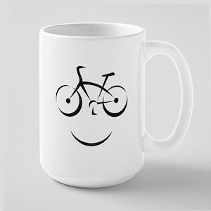 Bike Smile Large Mug