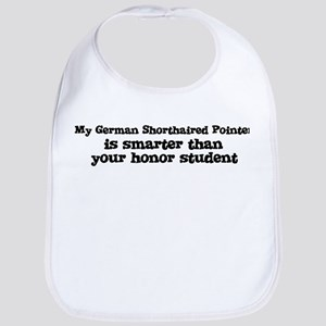 Honor Student: My German Shor Bib