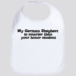Honor Student: My German Shep Bib